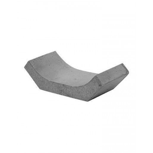 R5 Sant Trapezoidal Prefabricat Din Beton 76x54x33x24 cm, Ciment