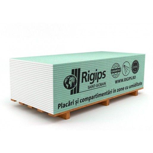 Placa gips carton Rigips RBI 300x120x1.25 cm