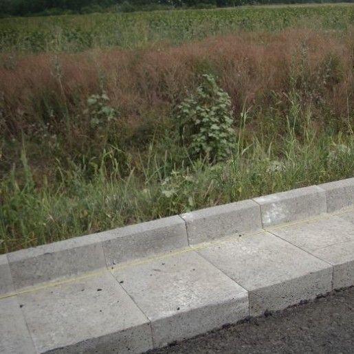 R7 Rigola De Acostament 33x60x25 cm, Gri Ciment