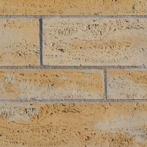 Element Zid Gard Bellamonte 40x20x15 cm, Ocru Auriu