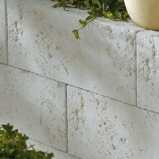 Bradstone Argento Bloc Zidarie Capac 40x20x15 cm, Gri Argintiu Nuantat