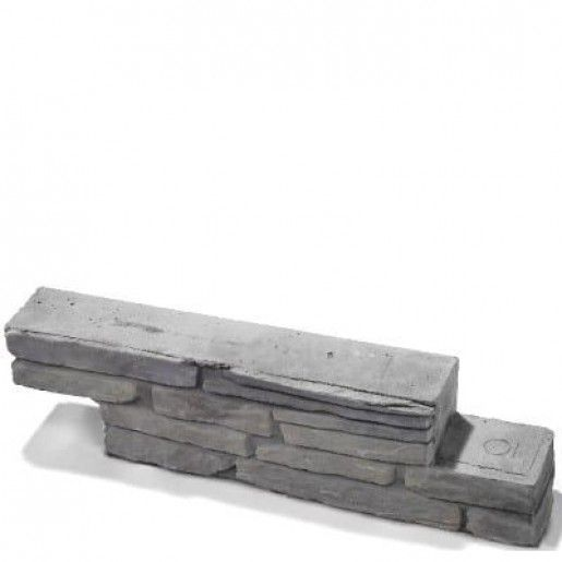 Bradstone Milldale Bloc Z 58.5x10x14 cm, Gri Nuantat