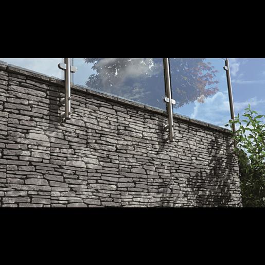 Bradstone Milldale Bloc Completare 11x7x10 cm, Gri Nuantat
