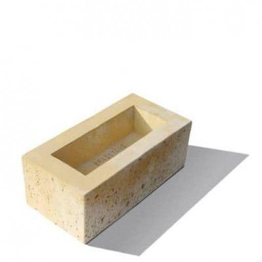 Bradstone Travero Bloc Zidarie Baza 40x20x15 cm, Gresie Nuantata