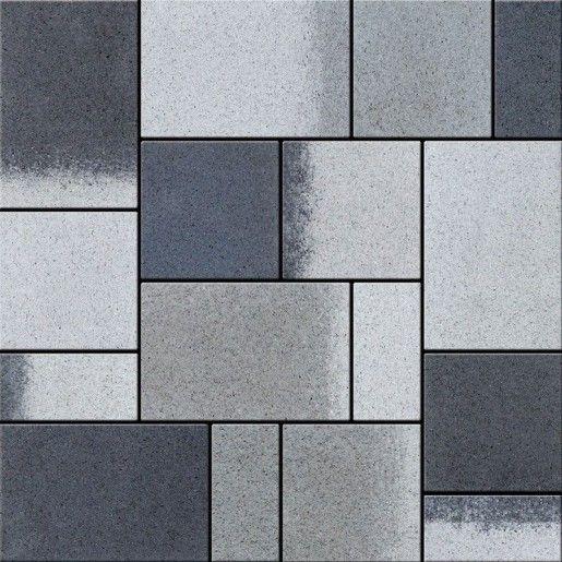 Rettango Combi 8 cm, Alb Polar