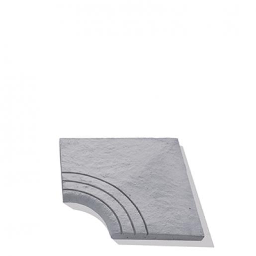 Bradstone Lias Dala Semirotunda Piscina 45x45x3.5 cm