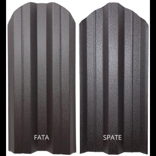 Set 25 buc/3 ml Sipca Metalica Gard Mat BGM Dublu Maro Inchis 0.50 mm