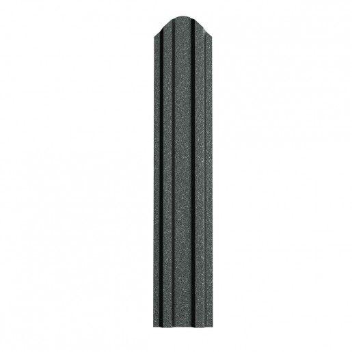 Sipca Metalica Gard finisaj grande mat Gri Grafit 0.5 mm
