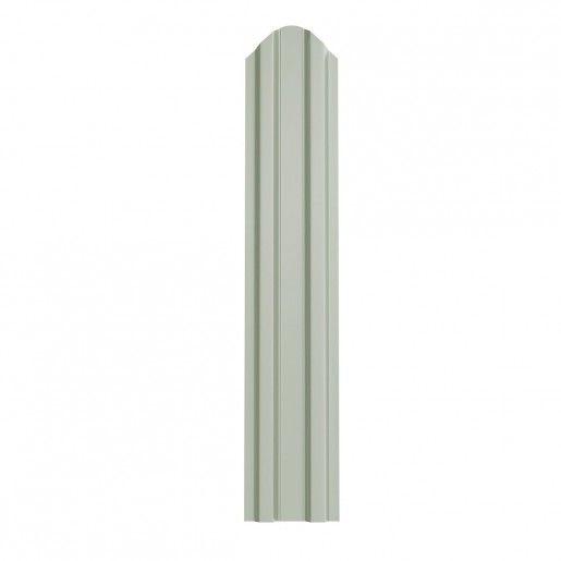 Sipca Metalica Gard finisaj lucios Alb 0.5 mm