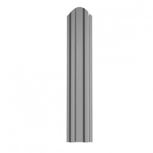 Sipca Metalica Gard finisaj lucios Argintiu 0.7 mm