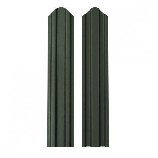 Sipca Metalica Gard finisaj lucios dublu Verde 0.6 mm