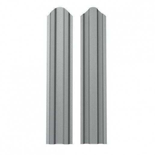 Sipca Metalica Gard finisaj lucios dublu Argintiu 0.6 mm