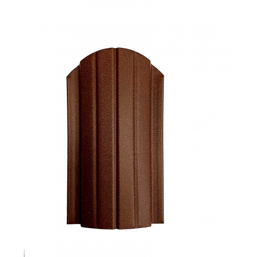 Sipca metalica gard Miriada Clasic Maro Roscat Mat 0.5 mm