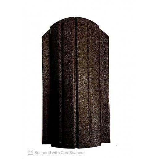 Sipca metalica gard Miriada Clasic Maro Inchis Mat 0.45 mm
