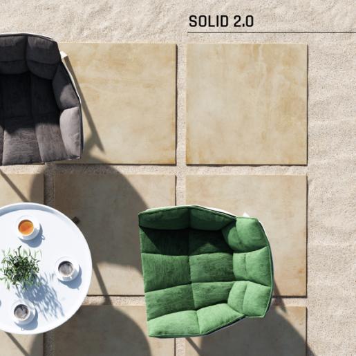 Solid Stone 2.0 60x60x2 cm, Bej