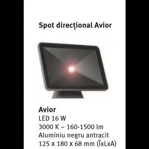 Spot directional Avior 12.5x18x6.8 cm