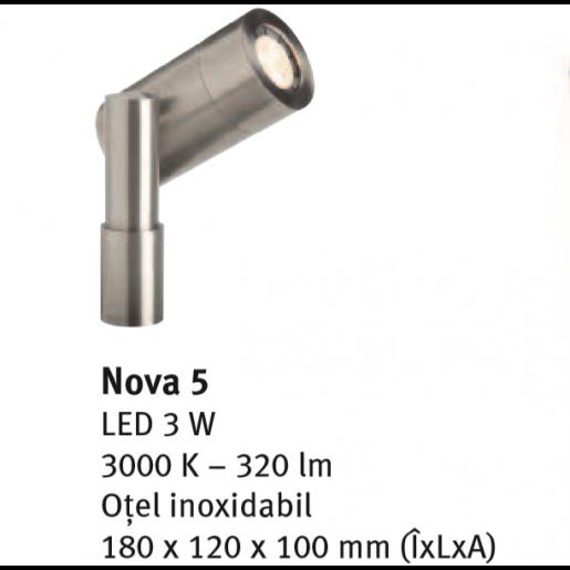 Spot directional Nova 5 18x12x10 cm