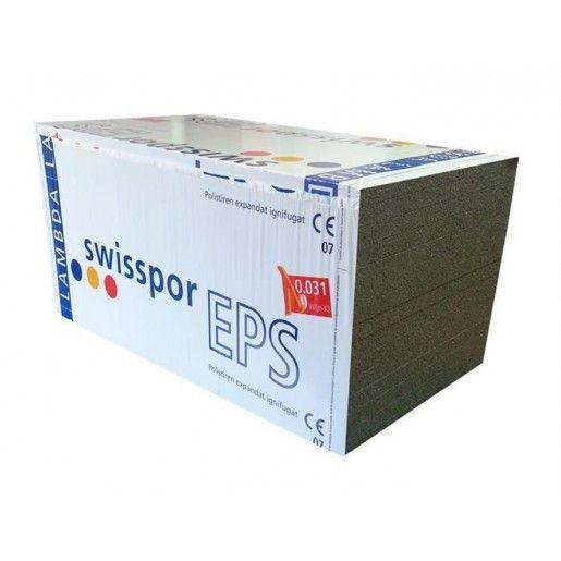Polistiren expandat Swisspor EPS 80 F LAMBDA, 100x50x10 cm