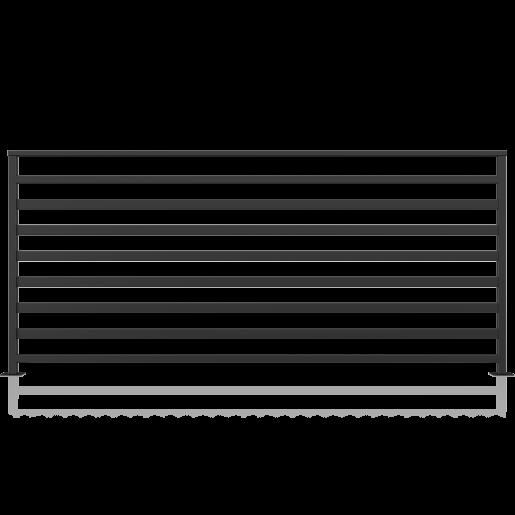 Balustrada metalica model 11, 200x90 cm