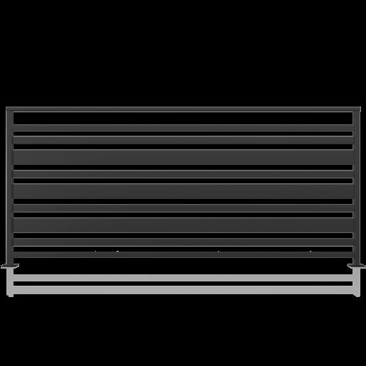 Balustrada metalica model 12, 200x90 cm