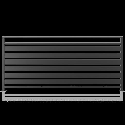 Balustrada metalica tabla model 17, 200x90 cm