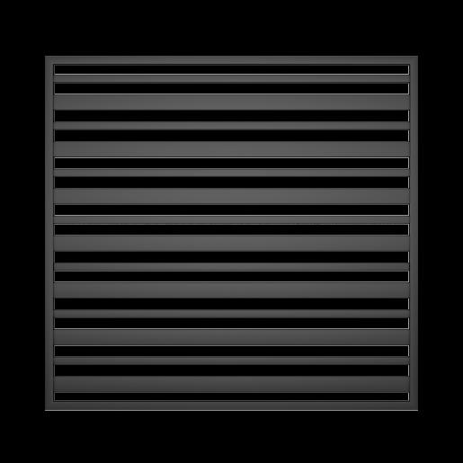 Panou gard mare model 12, 200x180 cm