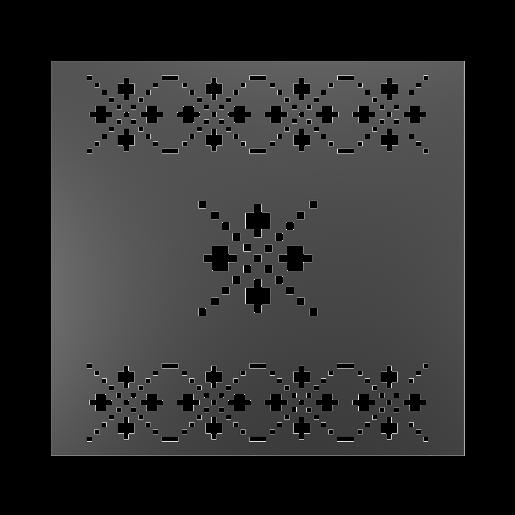Panou gard mare model 28, 200x180 cm