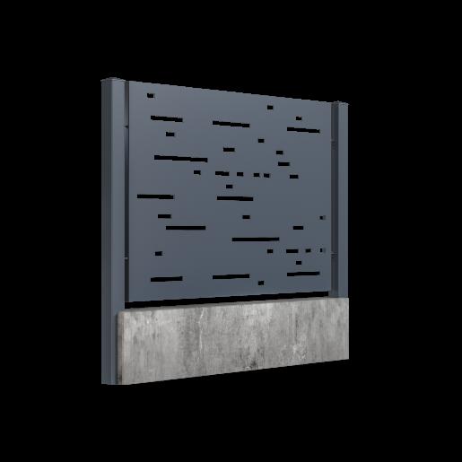 Panou gard mediu model 57, 200x150 cm