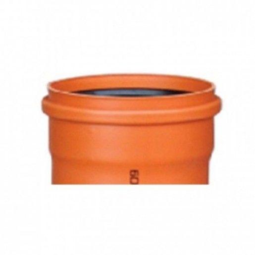 Teava PVC pentru canalizare exterioara, multistrat, SN2, DN125x2.5 L=600 cm
