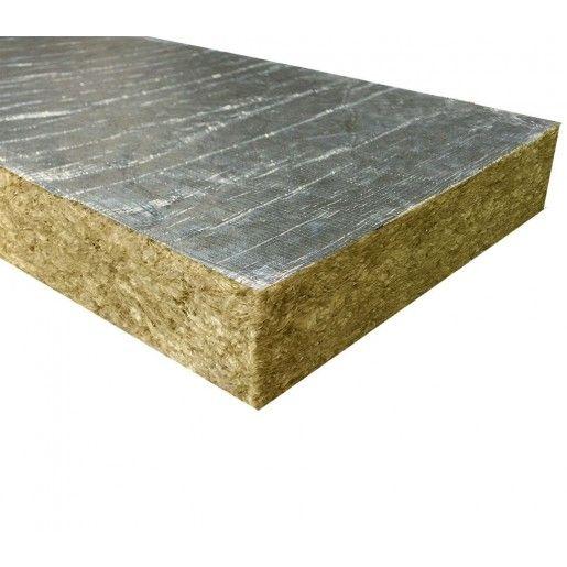 Vata minerala bazaltica Fibran cu aluminiu ALU B030, 120x60x5 cm, 30 kg