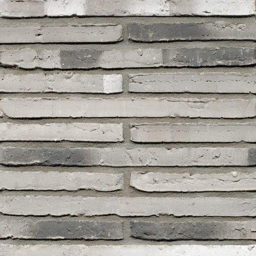 Placaj klinker Terca Wasserstrich Special Kwartsgrijs, 51x4x2.3 cm