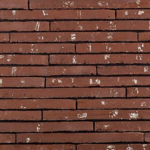 Placaj klinker Terca Wasserstrich Special Rood, 49.5x3.8x2.3 cm