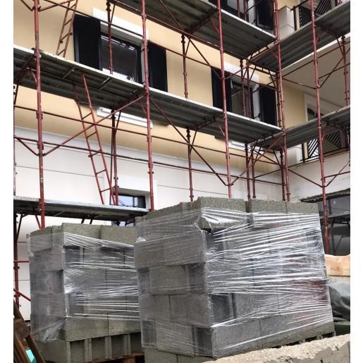 Boltar de zidarie 40x20x20 cm, Gri