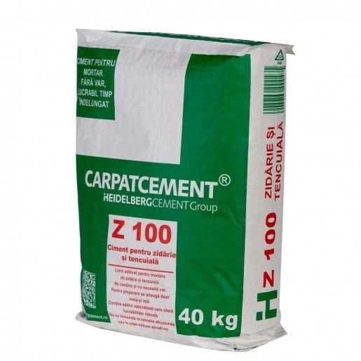 Liant tencuiala si zidarie Carpatcement, 40 kg