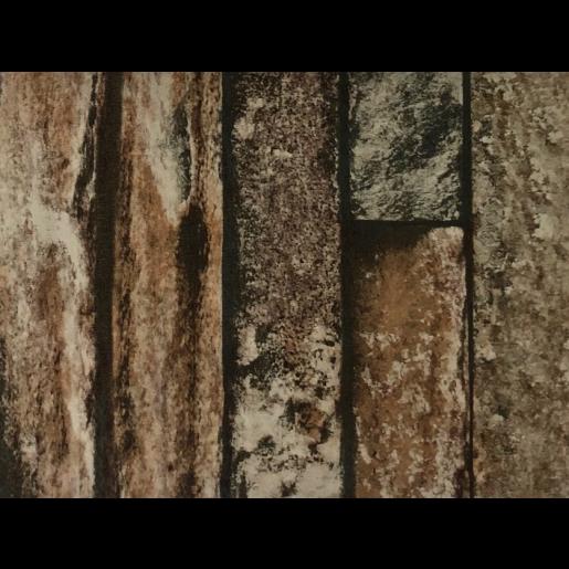 Set 25 buc Sipca Metalica Orizontala Gard Imitatie Piatra Zid Granit 0.40 mm