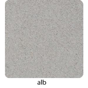 Quatro Tactil Puncte 20x20x6 cm, Alb