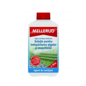 Solutie pentru indepartarea algelor si muschiului Mellerud 0110, 1l