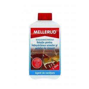 Solutie pentru indepartarea urmelor si petelor de ciment Mellerud 0004, 1l