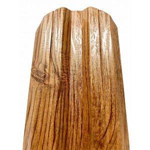 Set 25 buc Sipca Metalica Orizontala Gard Imitatie Lemn Stejar Striat 0.40 mm
