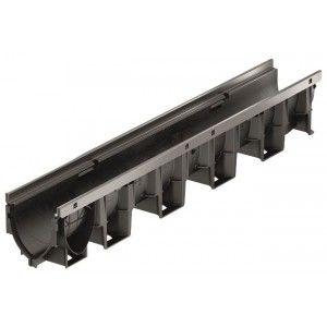 Element de rigola XtraDrain 100 cu inaltime redusa fara panta prefabricata 100x14.2x10 cm