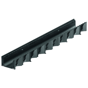Element de rigola Self Hexaline 2.0 fara gratar 100x12.9x8 cm