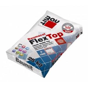 Adeziv flexibil FlexTop cu fibre, 25 kg