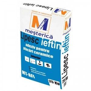 Adeziv pentru placi ceramice Mesterica MT-AFI, 25 kg