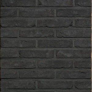 Coltar klinker Terca Agora Grafietzwart, 21.5x6.5x2.3 cm