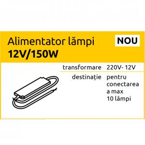 Alimentator lampi 12V/150W