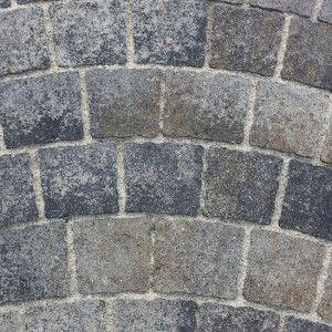 Arte Arc De Cerc Combi 8 cm, Gri Vulcanic