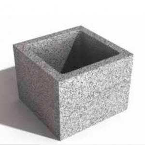 Bloc de cofraj pentru stalp 25x25x23 cm