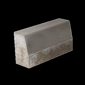 Bordura 50x15/12x25 cm, Gri