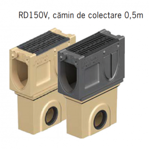Camin colector Monoblock RD 150 din beton cu polimeri 66x21x53 cm