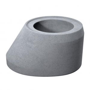 Cap tronconic D 100 di 62.5 g 10 H 62 cm